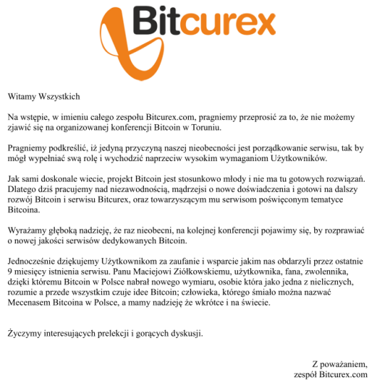 listBitcurex